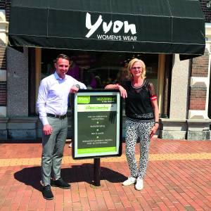 Yvon Women's Wear inleverpunt voor Hengelose stomerij Cristal Cleaning