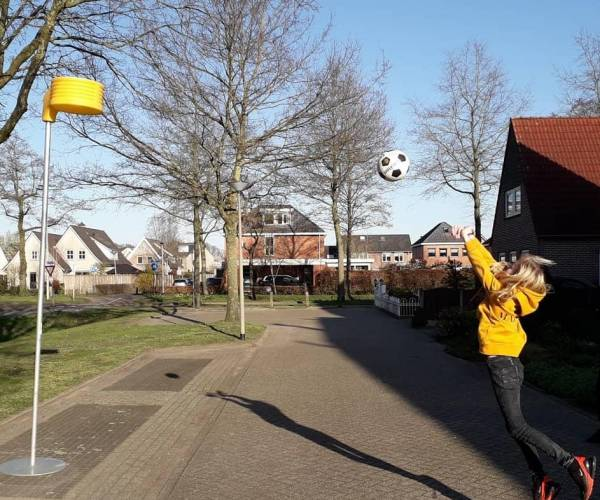 CKV Achilles laat leden thuis korfballen