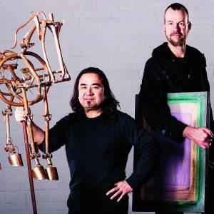 Bieden op kunstwerken Van Lingen en Huiskens tijdens livestream