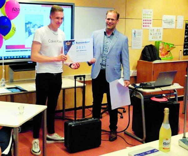 52e Boessenkoolprijs voor afstudeerder Sam Witteveen