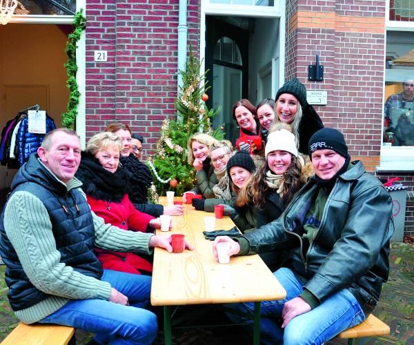 Kneuterigheid terug met oude rondje Noord tijdens kerstmarkt Doelengebied