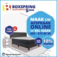 Boxspring slaapcomfort