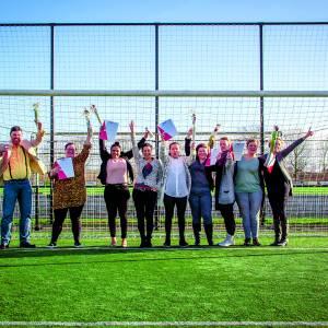 Diploma behalen en stage lopen bij Almelose voetbalverenigingen