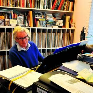 Johan Bijkerk viert twintig jaar Jazz at the Bieb