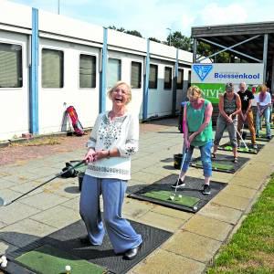 Golfclinic voor thuisblijvende mantelzorgers en vrijwilligers