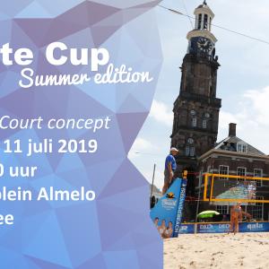Eerste editie Twente Cup Beach in Almelo
