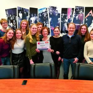 Canisius doneert € 1.500,- aan Voedselbank