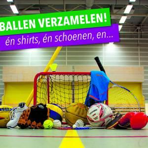Start inzamelweek voor Sportdepot Almelo