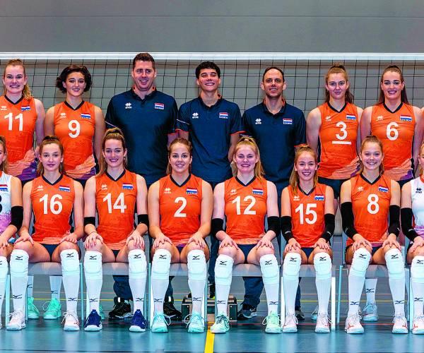 Jeugdinterlands volleybal naar Almelo