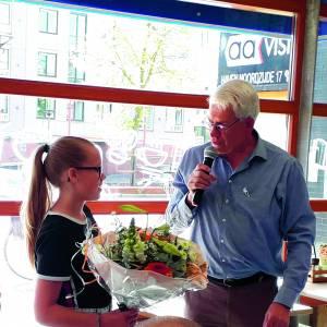 Lieke Binnenmars wint met haar gedicht 'In vrijheid kiezen'