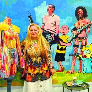 Zippora Meijer geeft de Almelose binnenstad meer kleur