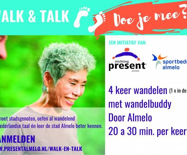 Nieuw wandelinitiatief: Walk & Talk