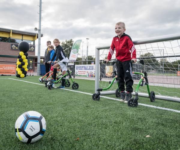 Geslaagde clinic framevoetbal bij PH Almelo