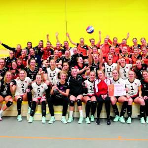 2020 goed begonnen in volleyballend Twente